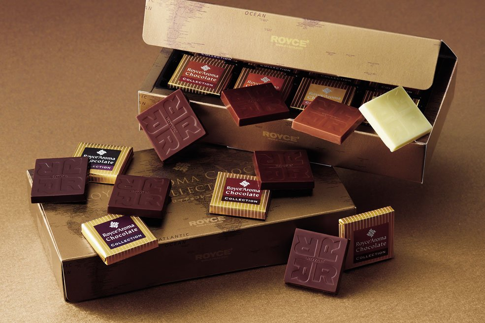 Коллекция шоколада «ROYCE' АРОМА»