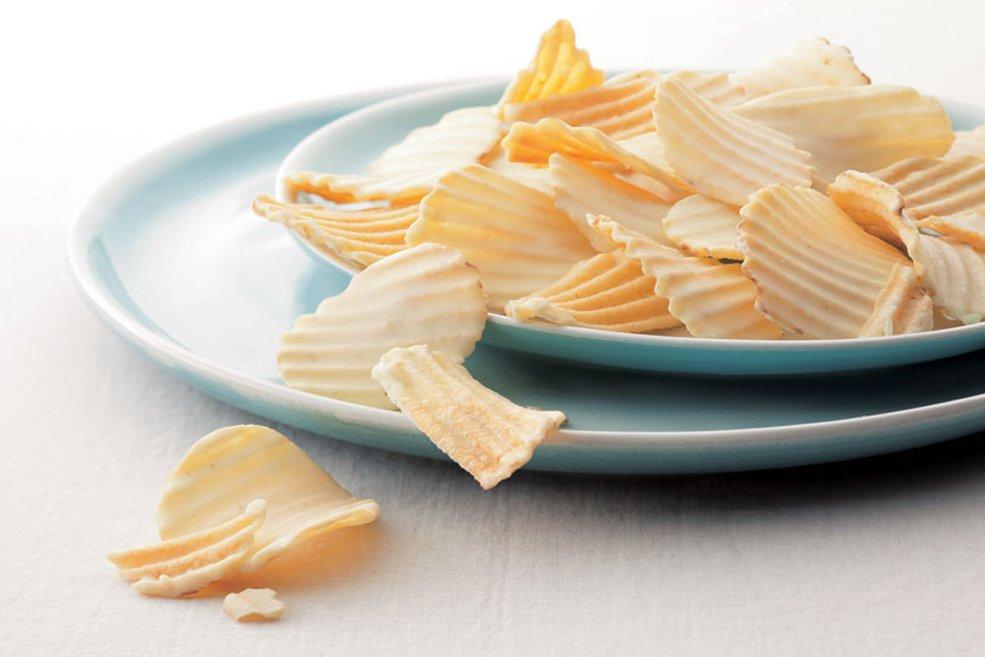 Чипсы в шоколаде «Белые сырные»