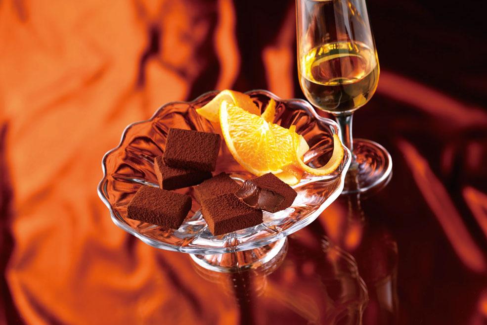Нама шоколад «Апельсиновый ликер»
