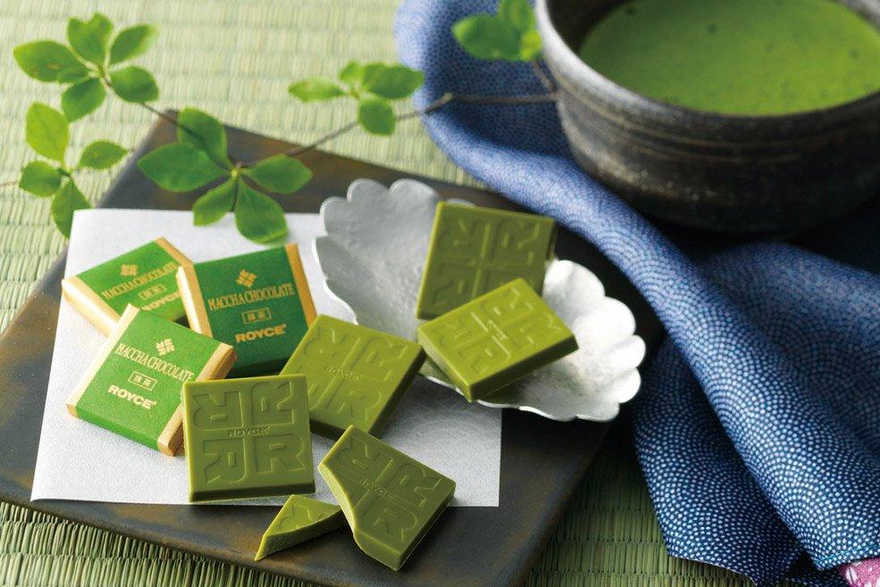 Шоколад «Зеленый чай»