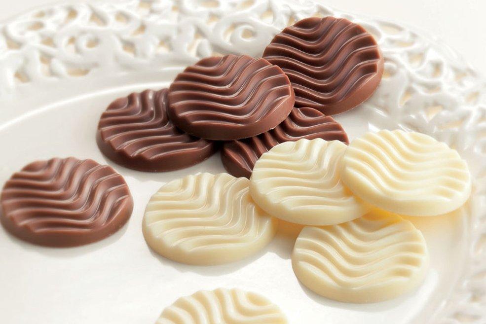 Чистый шоколад  «Молочная карамель и  Кремовый белый» (какао 37% и 42%)