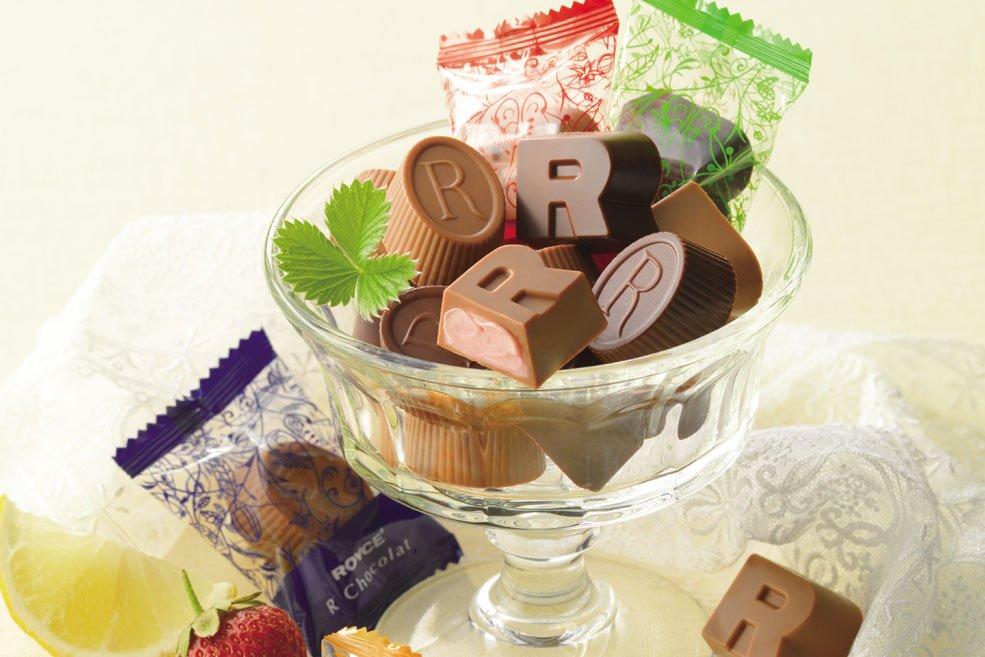 Шоколадные конфеты «ROYCE' R»