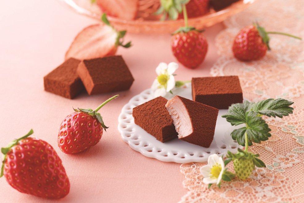 Нама шоколад «Клубника»