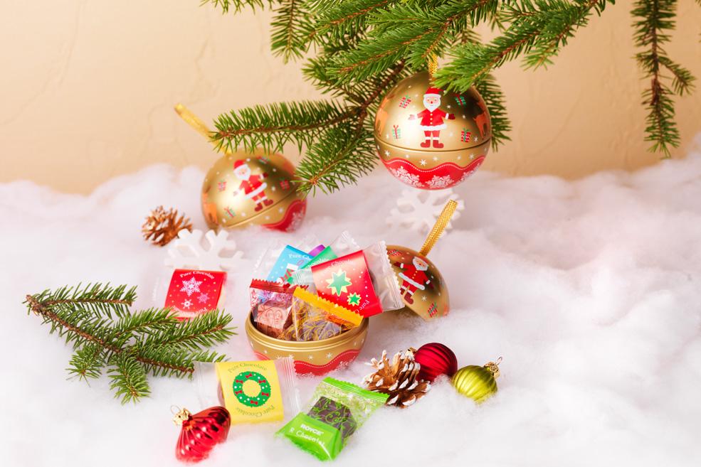 Новогоднее украшение-шар «Дед Мороз и Северный олень»