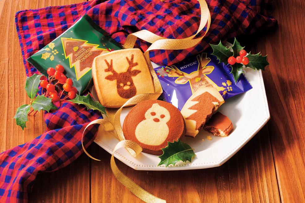 Новогоднее печенье ROYCE'