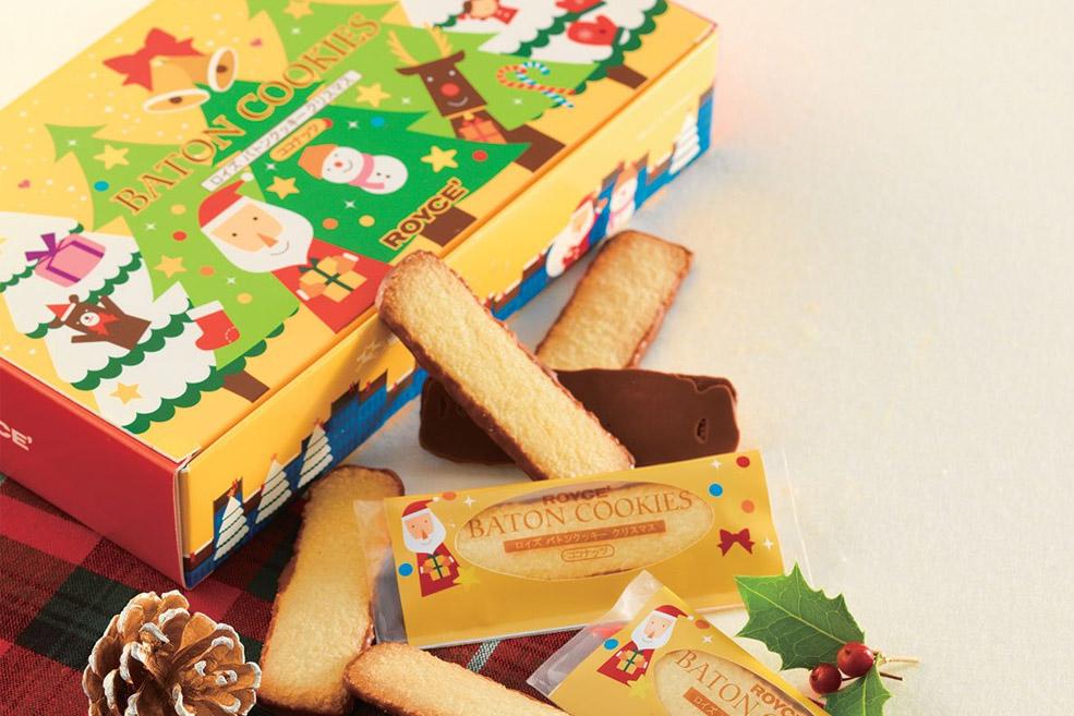 Печенья палочки «Рождество»