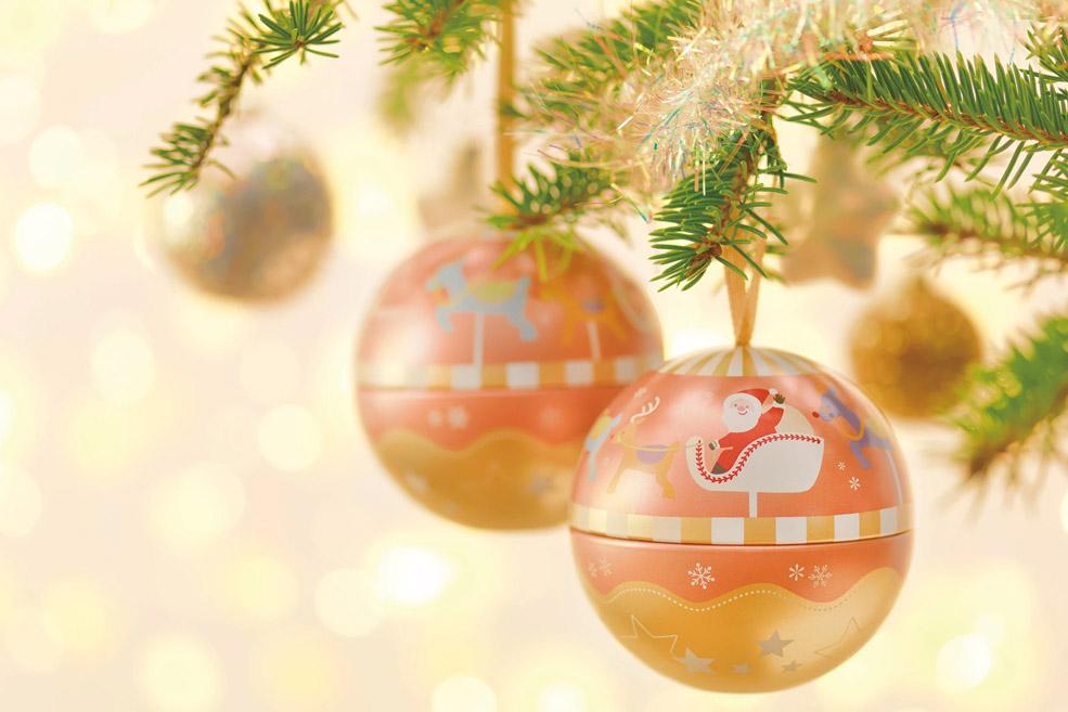 Новогоднее украшение-шар «Санта Карусель»