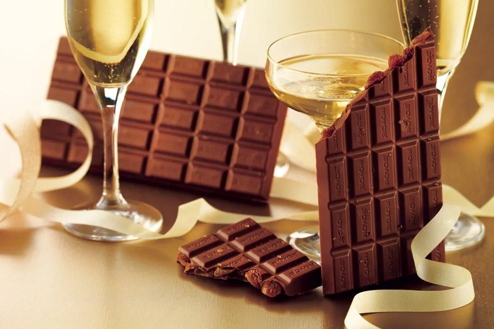 Шоколад «Изюм в Шампанском»